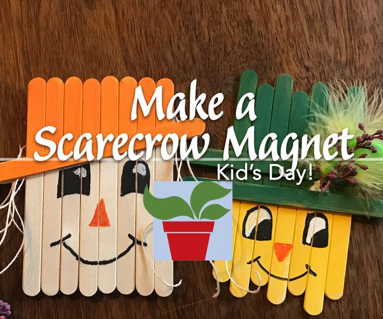 Make a Scarecrow Magnet